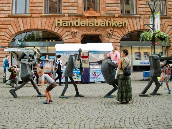 Handelsbanken is a Swedish bank which runs a decentralised network of locally focussed banks where Branch Managers make decisions on whether or not to provide loans, in contrast to the 'computer says no' approach to local business lending of the big four banks that dominate the market. Along with Sustainability focused Triodos and Metro Bank, these 'Challenger' Banks have so far been excluded from providing banking services to Local Authorities despite their superior performance in supporting local economies.