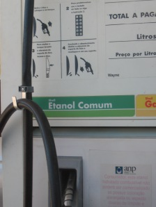 Ethanol petrol in Brazil:  the wrong kind of renewable energy. photo (c) M Burton