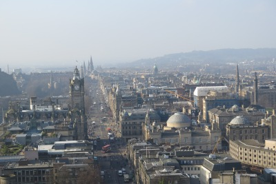 Some cities, like Edinburgh choose a more human scale.