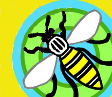 Bee and Doughnut SSSM logo